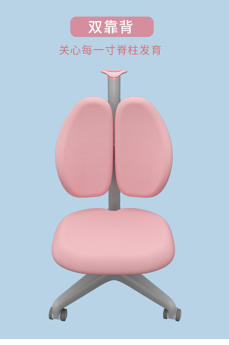 博士有成人体工学椅,双靠背,守护脊椎成长