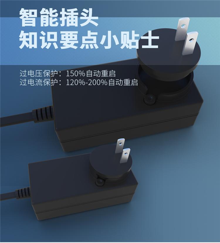 智能插头,过电压、电流保护