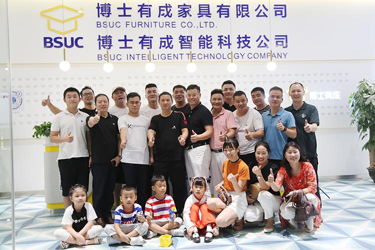 广东省多位优秀企业家莅临博士有成参观指导