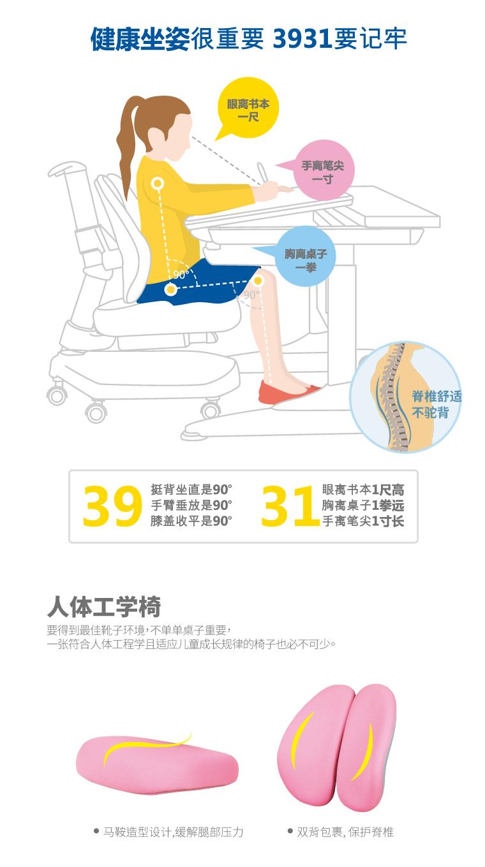 人体工学椅,马鞍造型设计,缓解腿部压力