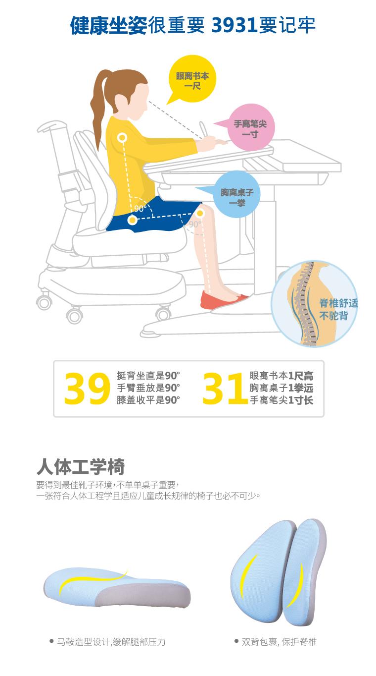 人体工学椅,守护儿童健康