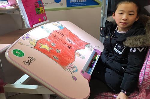 可升降儿童学习桌的优势