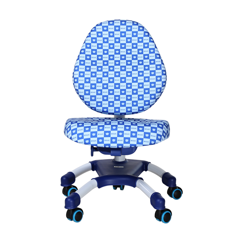 DRY-501可升降學習椅藍色