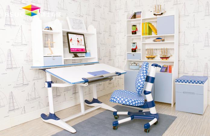 儿童书房设计与儿童学习桌优势