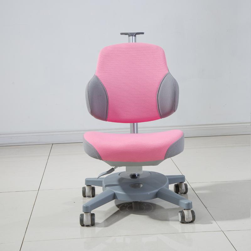 DRY-802儿童矫姿椅子正面粉色