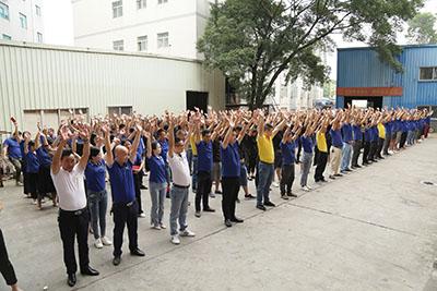 10月全厂职工动员大会 盯紧一个目标 抓好两个强化