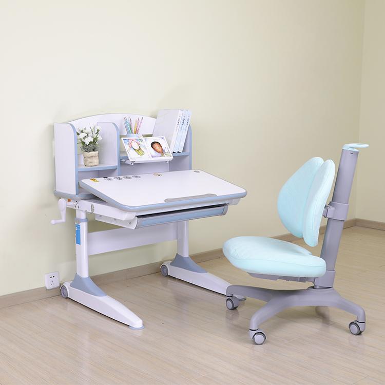 牛津8001小学生书桌搭配808矫姿椅