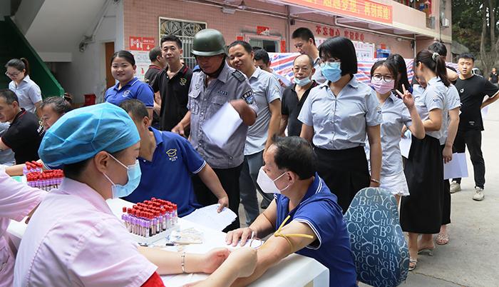 博士有成组织体检,为员工健康保驾护航!